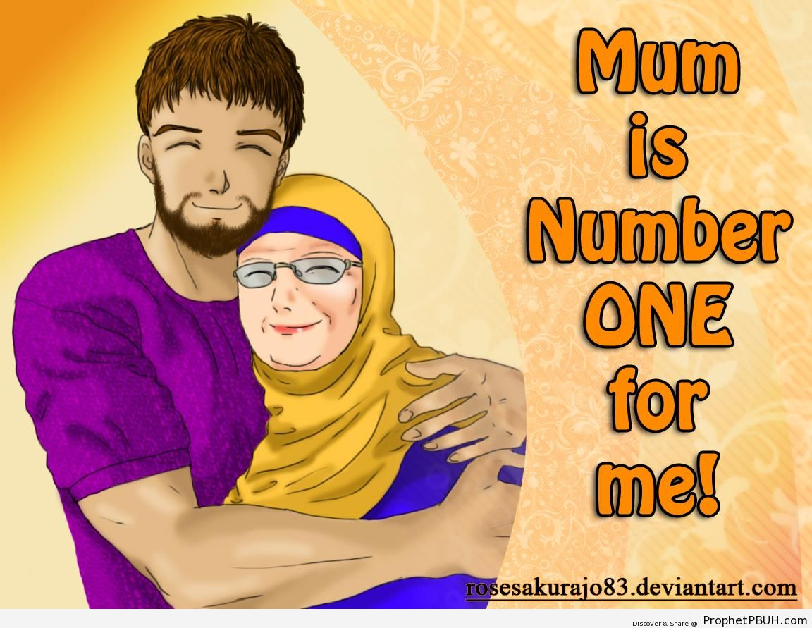 Mom is Number One - Drawings