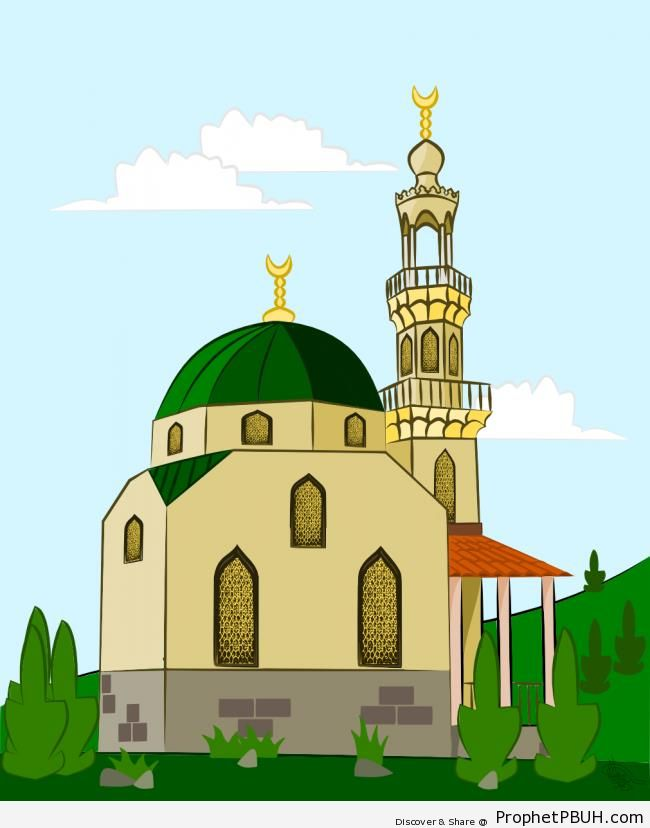 Mosque Illustration - Drawings