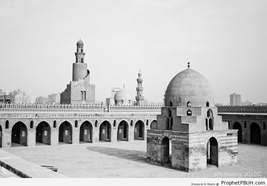 Mosque of Ibn Tulun in Cairo, Egypt - Cairo, Egypt -004