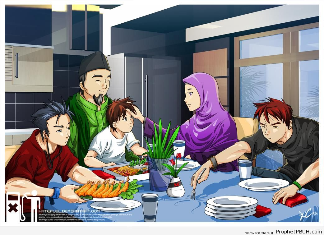 Extended Family Clipart