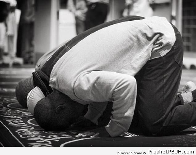 Muslim Men in Sujood - Photos of Muslim People