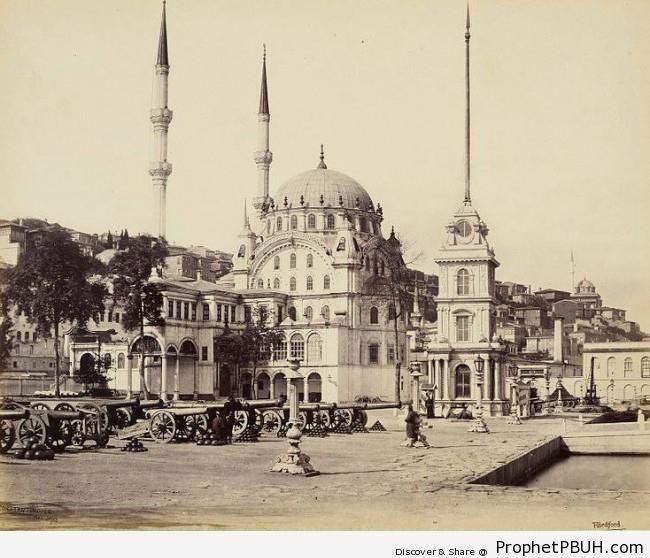Nusretiye Mosque in Istanbul (1862 CE) - Historic Photos