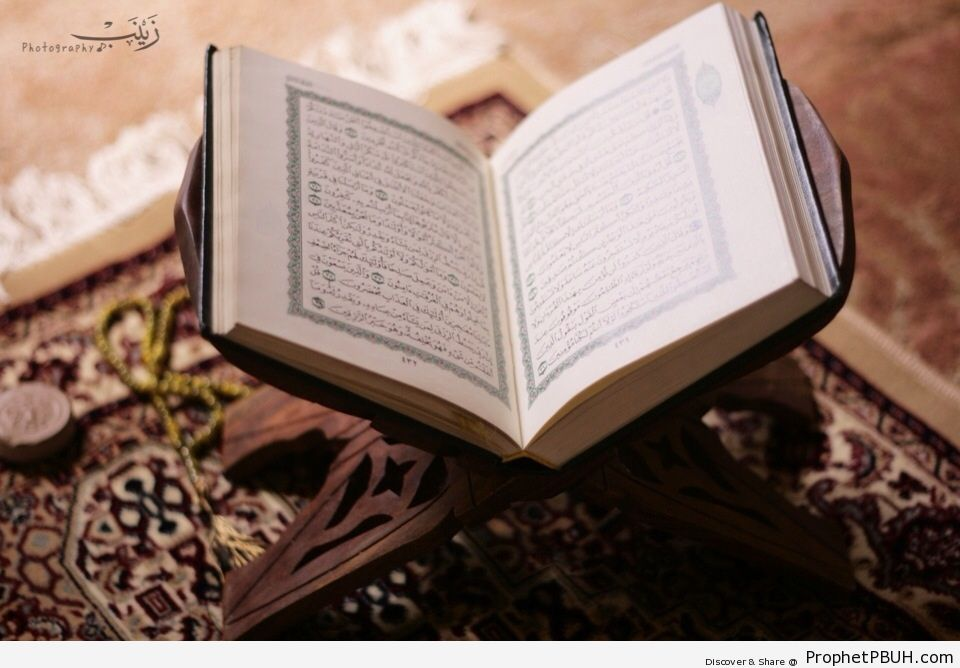 Open Book of Quran - Mushaf Photos (Books of Quran)