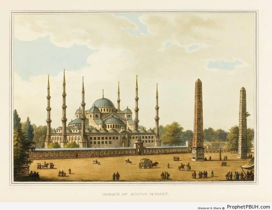 Ottoman Istanbul in 1810 CE - Islamic Architecture