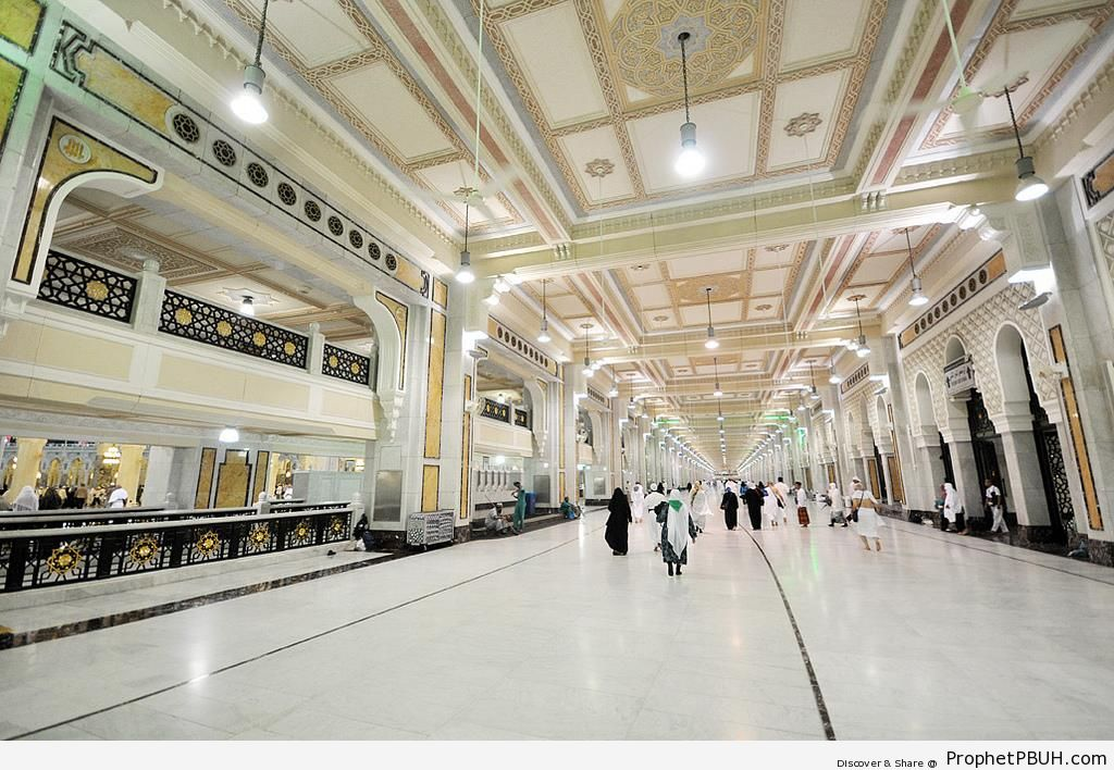 Photo of the Walk Between Safa and Marwah - Islamic Architecture