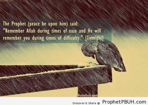 Prophet Muhammad ï·º- Remember Allah - Hadith