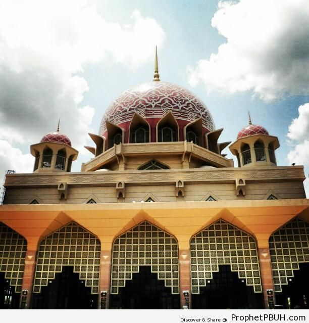 Putra Mosque - Islamic Architecture -004