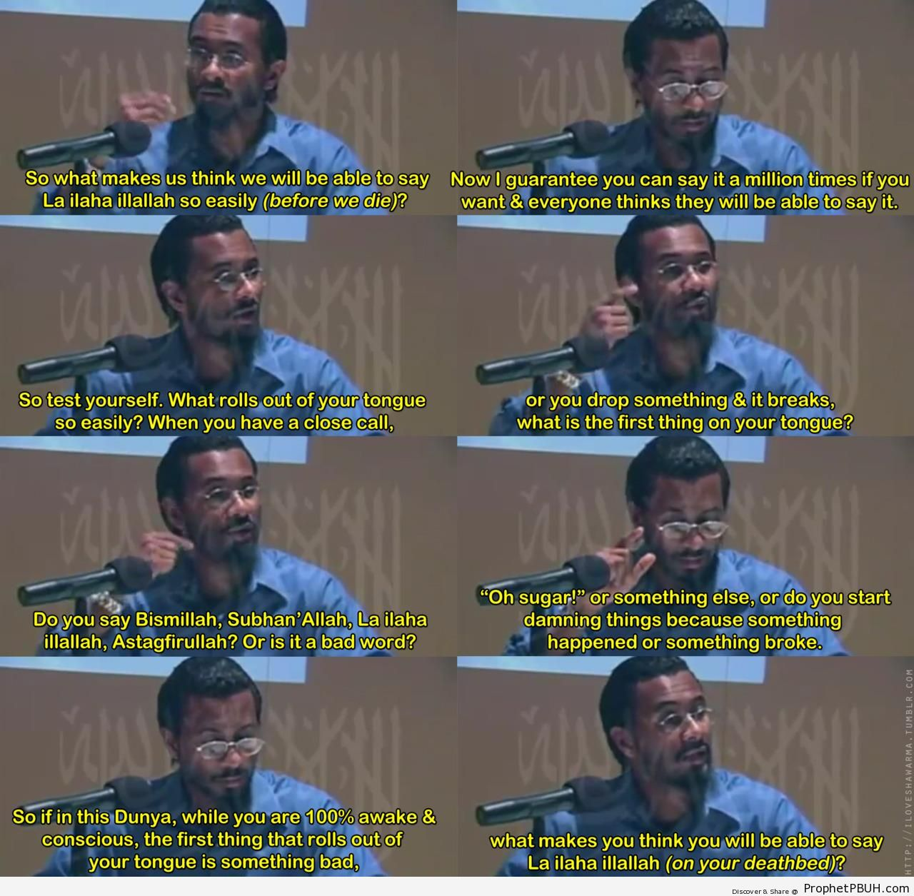 Quotes by Muslim Speakers (1)