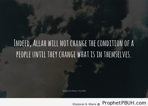 Quran 13-11 - Surat ar-Ra`d - Quran 13-11