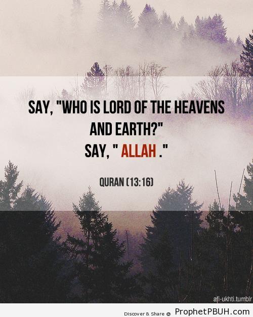 Quran 13-16 - Islamic Quotes