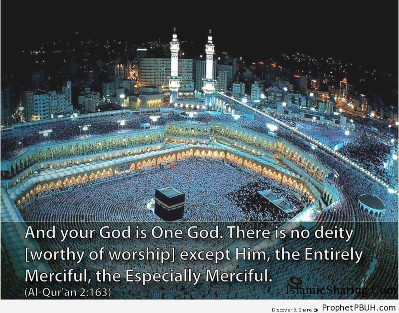 Quran Chapter 2 Verse 163