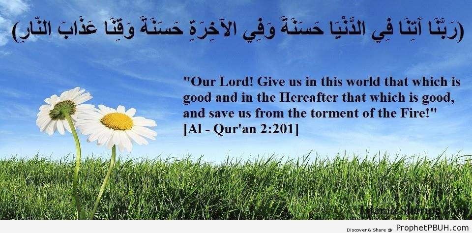 Quran Chapter 2 Verse 201