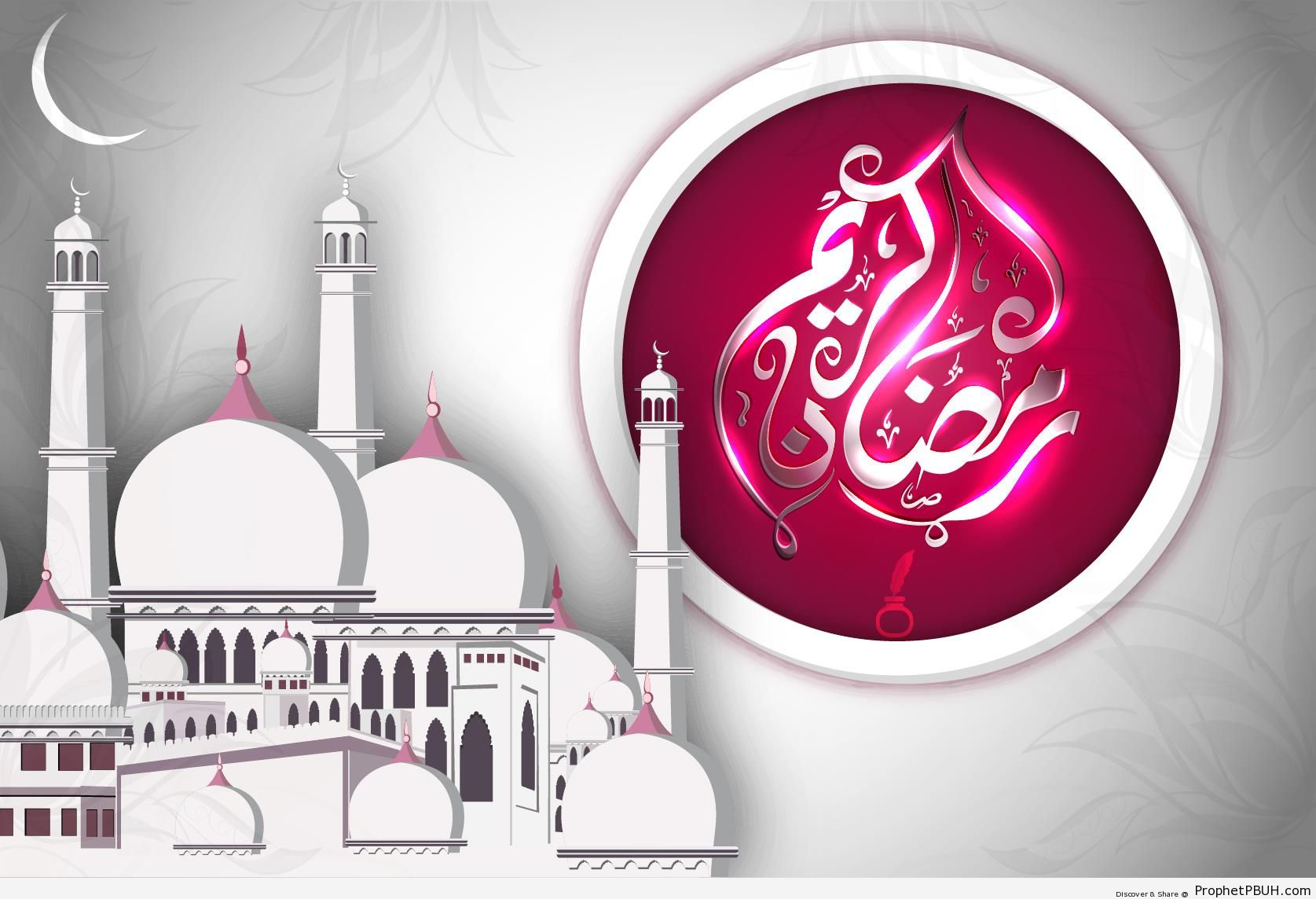 Ramadan Kareem - Islamic Greeting Cards and Wallpapers -003