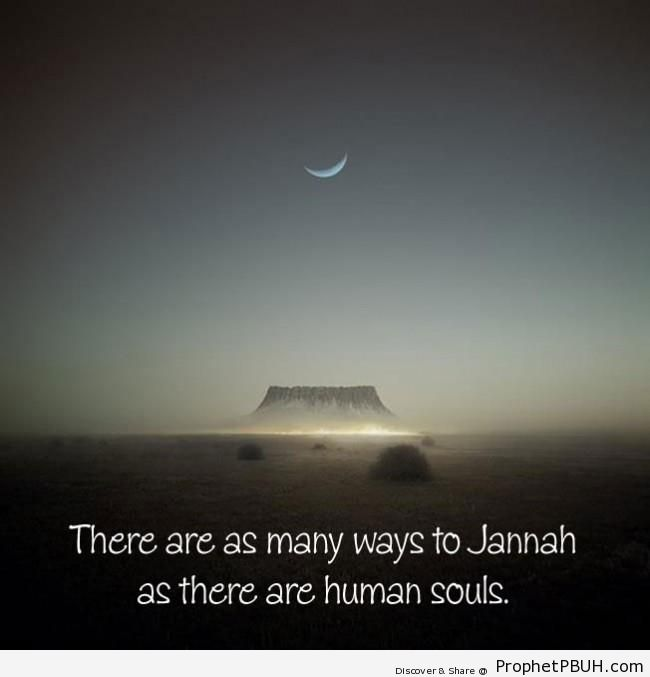 Rumi Quote- Ways to Jannah - Islamic Quotes
