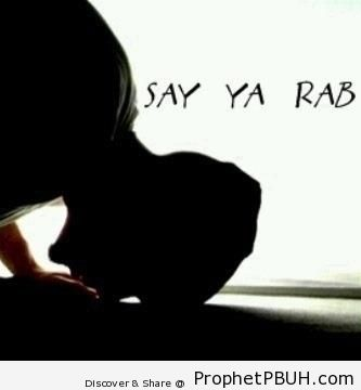 Say- Ya Rab - Photos