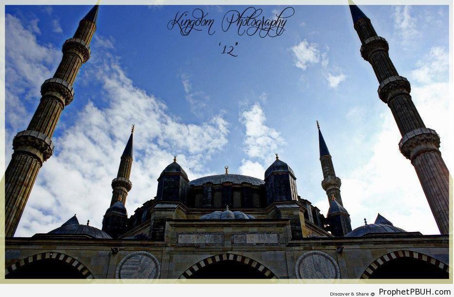 Selimiye Mosque (Selimiye Camii) in Edirne, Turkey - Edirne, Turkey -Picture