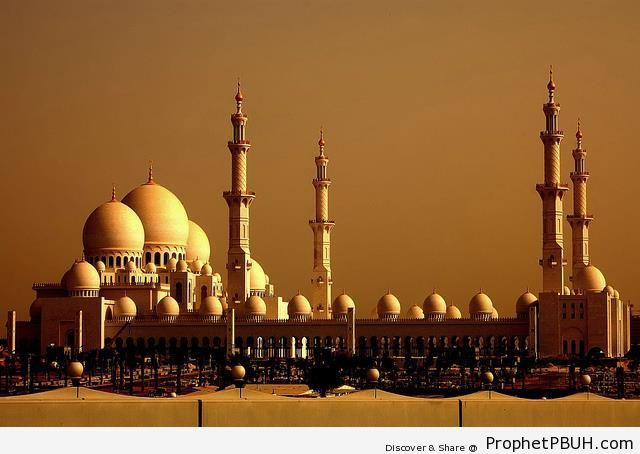 Sheikh Zayed Grand Mosque (Abu Dhabi, UAE) - Abu Dhabi, United Arab Emirates -Picture
