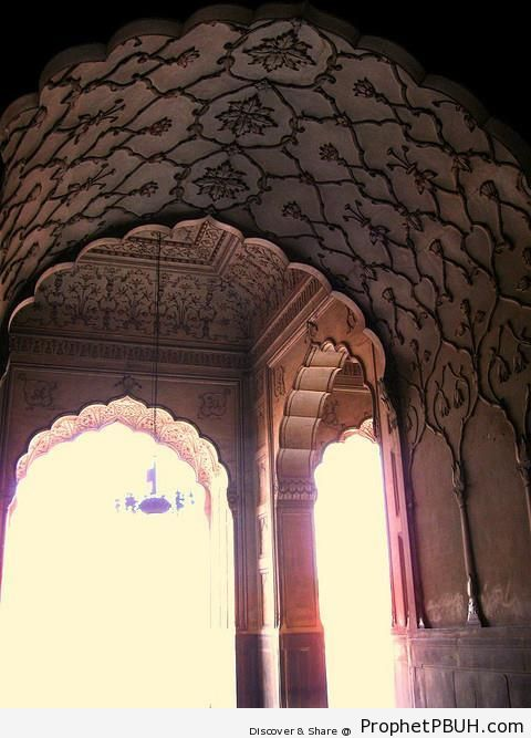 Some Mosque- in Pakistan (Arabesque-Decorated Islamic Style Arches) - Islamic Architecture