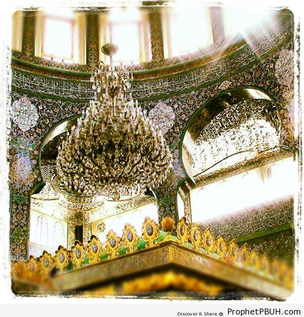 Somewhere in Syria - Islamic Architectural Calligraphy