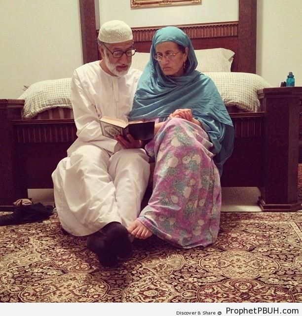 Studying Quran Together - Muslimah Photos (Girls and Women & Hijab Photos)