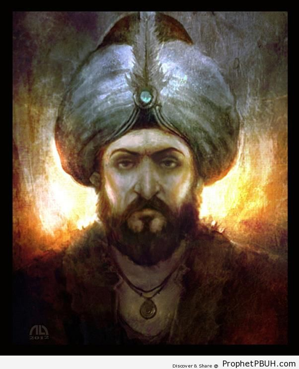 Sultan Mehmet al-Fatih (Conquered Eastern Roman Empire at Age of 21) - Drawings