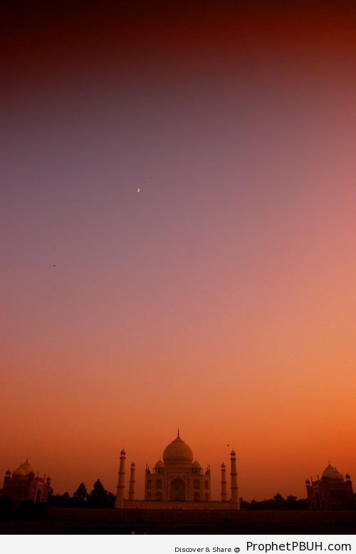 Taj Mahal at Twilight - Agra, India