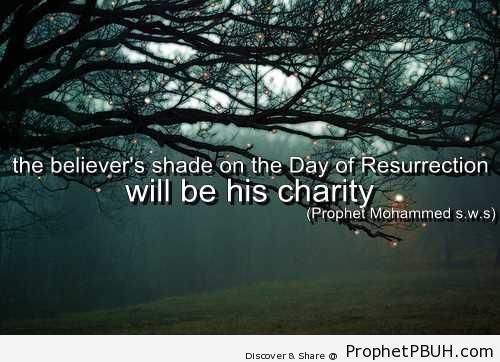 The Believer-s Shade - Hadith
