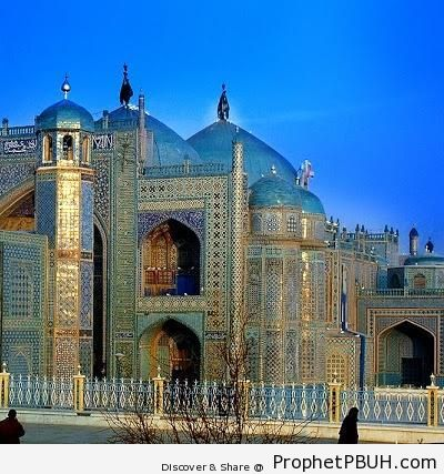The Blue Mosque of Herat - Afghanistan Islamic Architecture