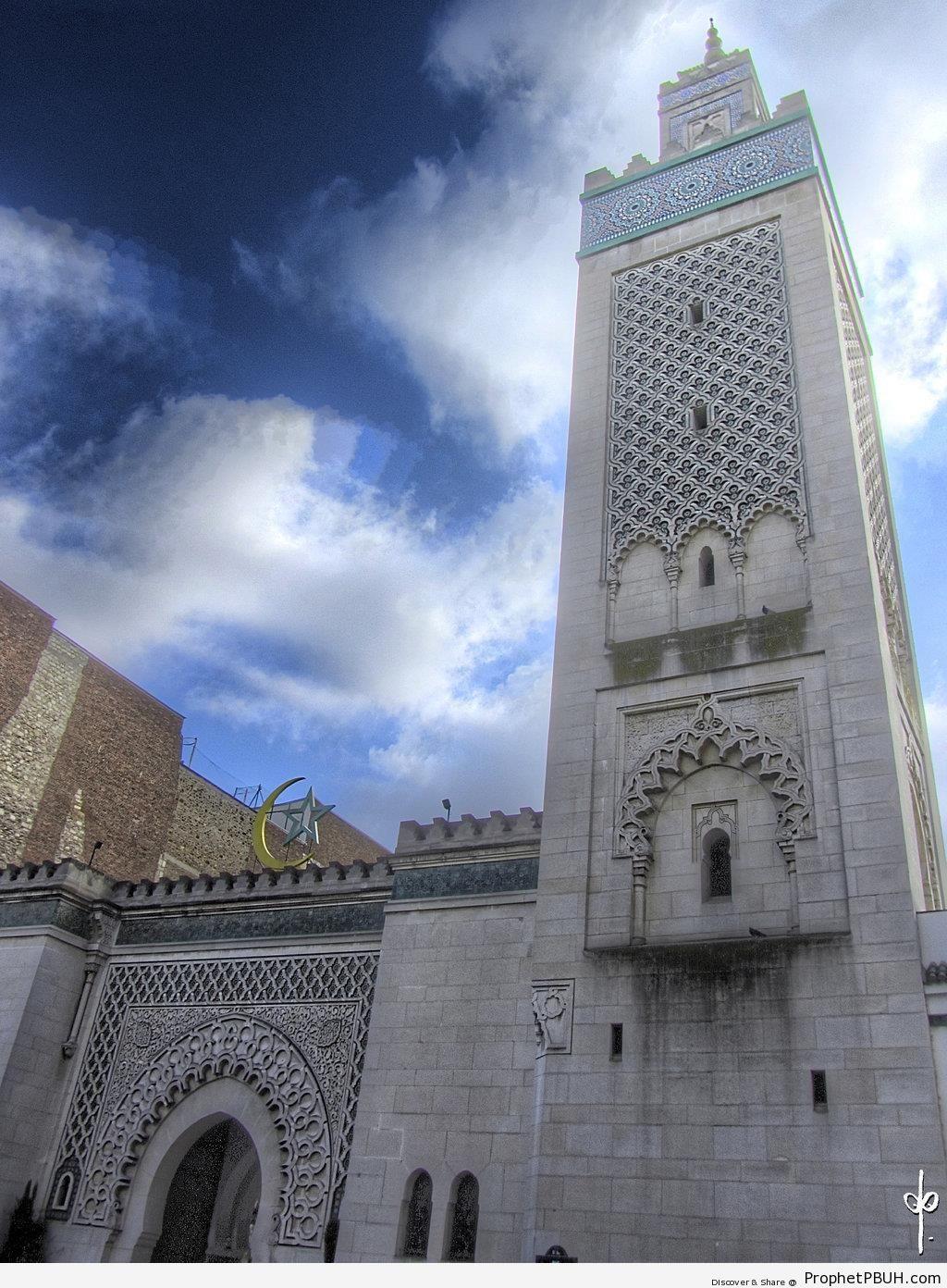 The Grande Mosquée de Paris (Great Mosque of Paris) in Paris, France - France -Picture