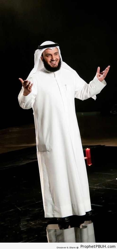 The Qari- (Quran Reciter) Sheikh Mishary al-Afasy - Photos