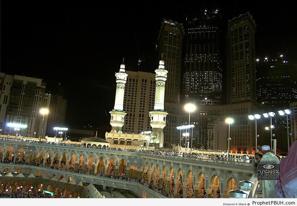 The Three Floors of al-Masjid al-Haram - al-Masjid al-Haram in Makkah, Saudi Arabia -Picture