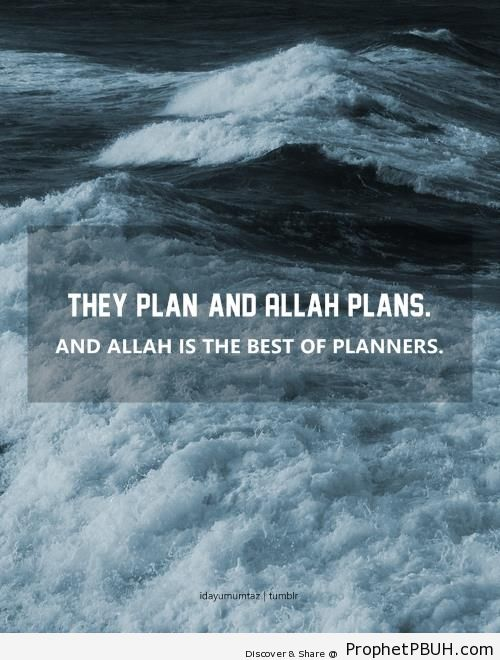 They Plan and Allah Plans (Quran 8-30 - Surat al-Anfal) - Photos