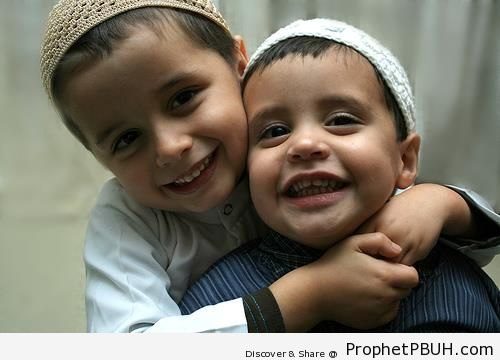 Two Little Muslim Boys - Photos
