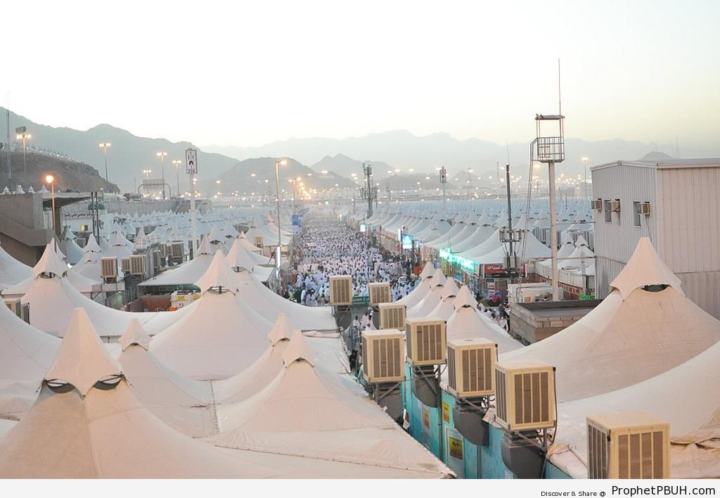 View of Tents at Mina - Photos of Haj Proceedings -  sc 1 st  Prophet PBUH & View of Tents at Mina u2013 Photos of Haj Proceedings u2013 | Prophet PBUH ...