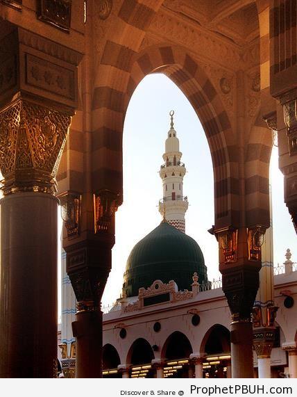 al-Masjid an-Nabawi (Madinah) - Al-Masjid an-Nabawi (The Prophets Mosque) in Madinah, Saudi Arabia