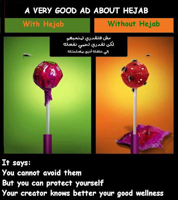 Meaningful Advertisement about Hijab