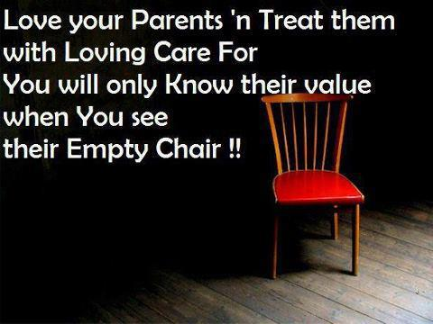 Islamic Quotes - Take care of your parents