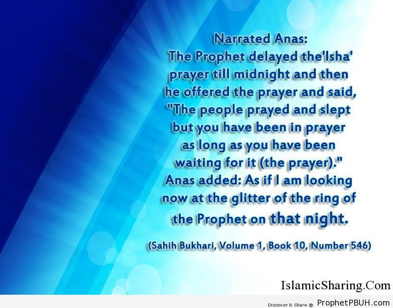sahih bukhari volume 1 book 10 number 546