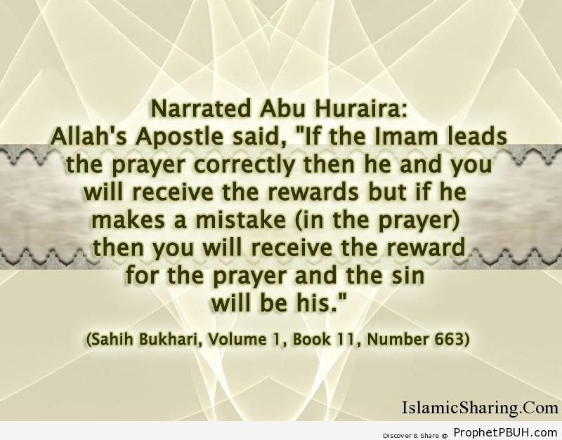 sahih bukhari volume 1 book 11 number 663