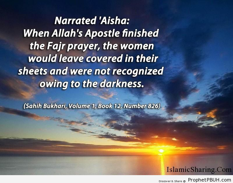 sahih bukhari volume 1 book 12 number 826