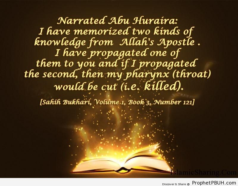 sahih bukhari volume 1 book 3 number 121