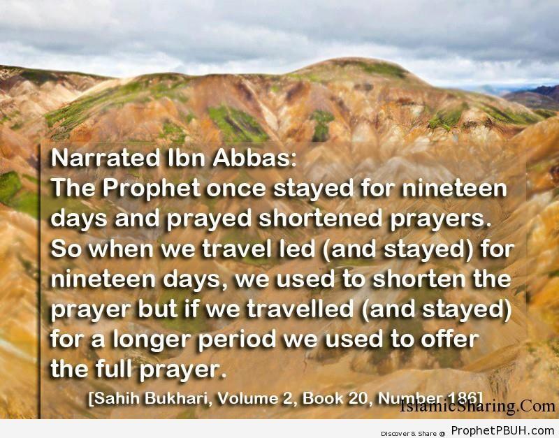 sahih bukhari volume 2 book 20 number 186