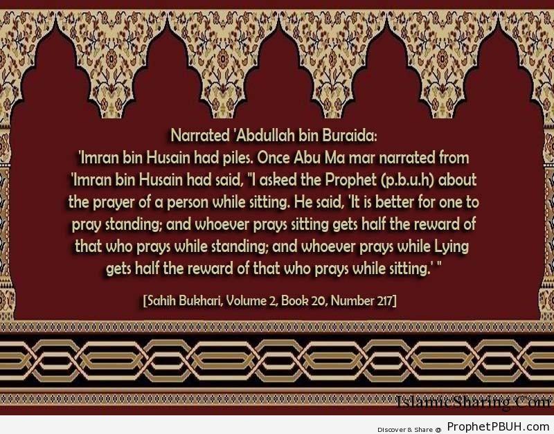 sahih bukhari volume 2 book 20 number 217