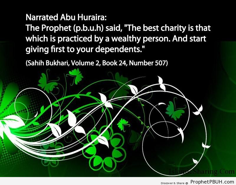 sahih bukhari volume 2 book 24 number 507