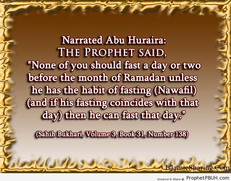 sahih bukhari volume 3 book 31 number 138