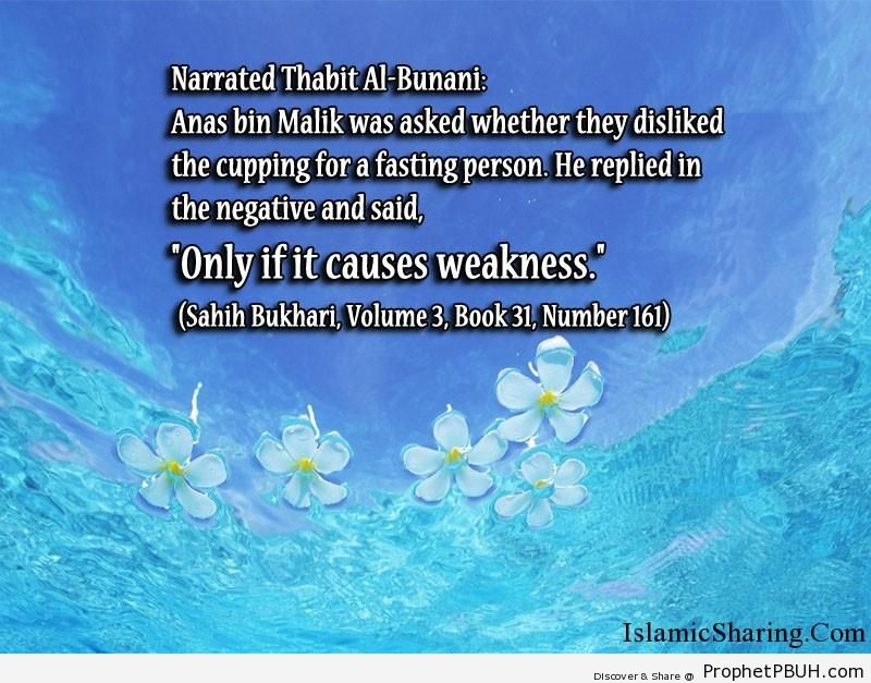 sahih bukhari volume 3 book 31 number 161