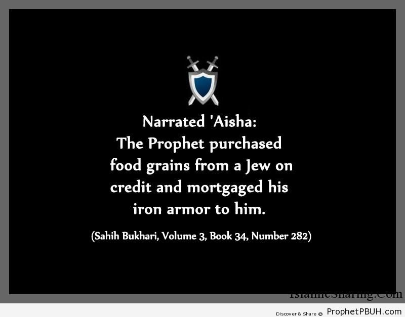 sahih bukhari volume 3 book 34 number 282