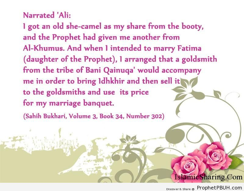 sahih bukhari volume 3 book 34 number 302