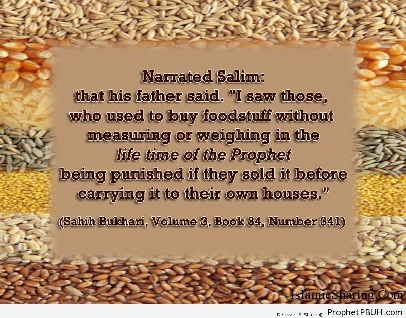 sahih bukhari volume 3 book 34 number 341