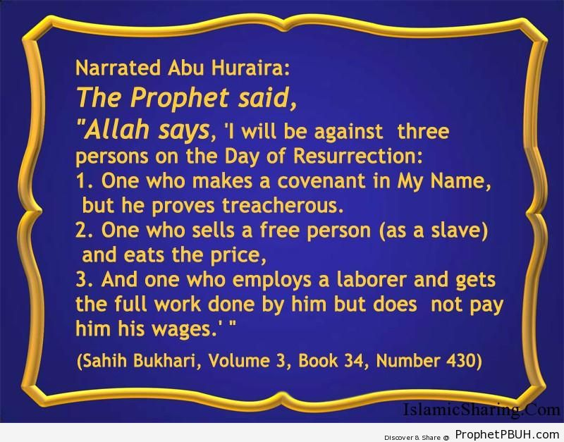 sahih bukhari volume 3 book 34 number 430